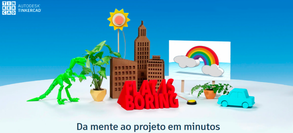 banner do Tinkercad