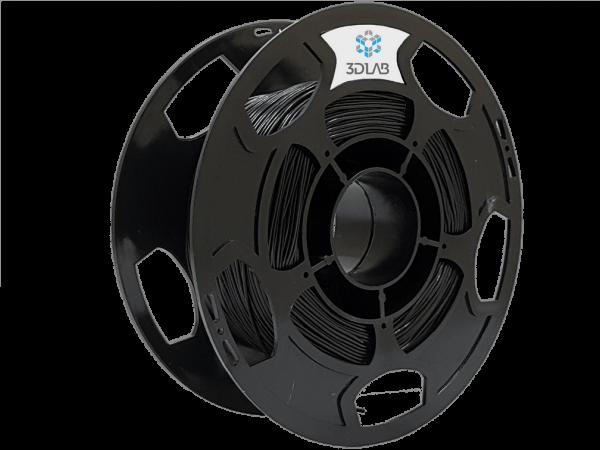 filamento flexível preto