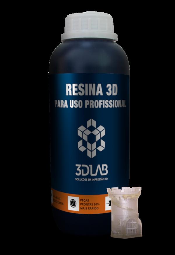 Resina para impressão 3D Standard Clear