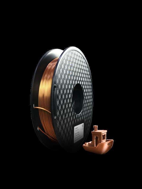 Filamento PLA Silk Bronze