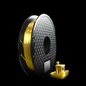 Filamento PLA SILK Ouro – 500g – 1,75mm