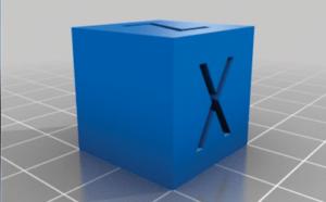 3. Cubo de Calibração XYZ