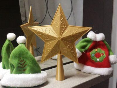 2. Estrela dourada