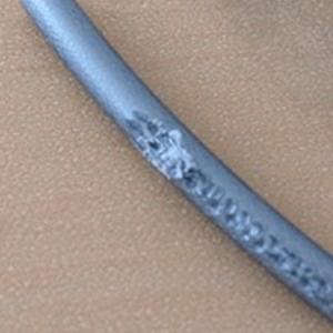 #9.Marcas do tracionador no filamento  O que é?