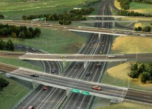 Projetos de infraestrutura com software CAD