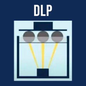Impressão 3D DLP melhores impressoras 3d de resina