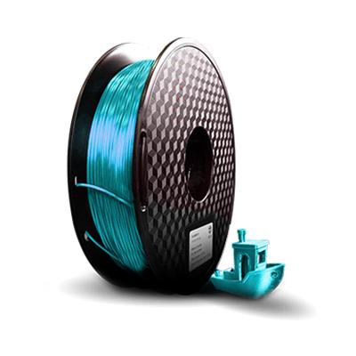 filamento pla silk azul turquesa