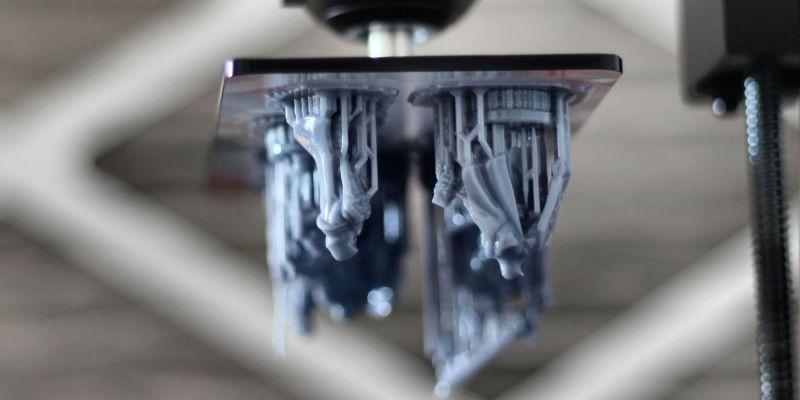 Nivelar mesa da impressora 3D de resina