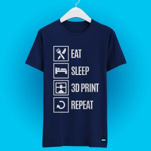 Camisa Repeat Azul