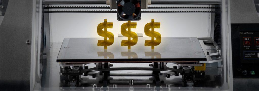 Investimento em impressora 3D para confeitaria