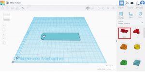 Inserindo texto no projeto 3D