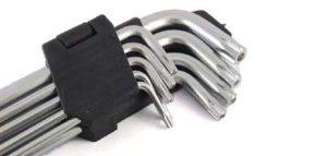 Chaves Allen - ferramenta para manutenção de impressoras 3D