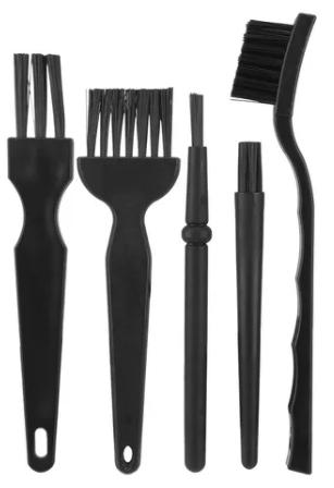 Escovas de limpeza - ferramenta para manutenção de impressoras 3D