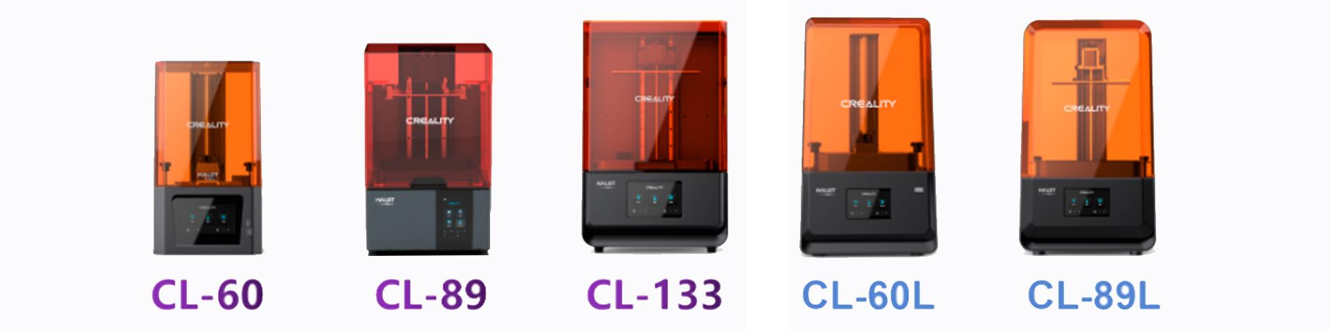 Impressoras 3D de resina série HALOT