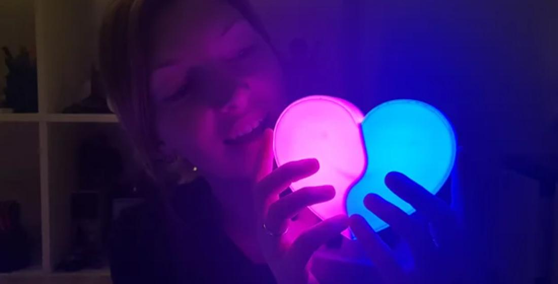 Luminária Dia dos Namorados