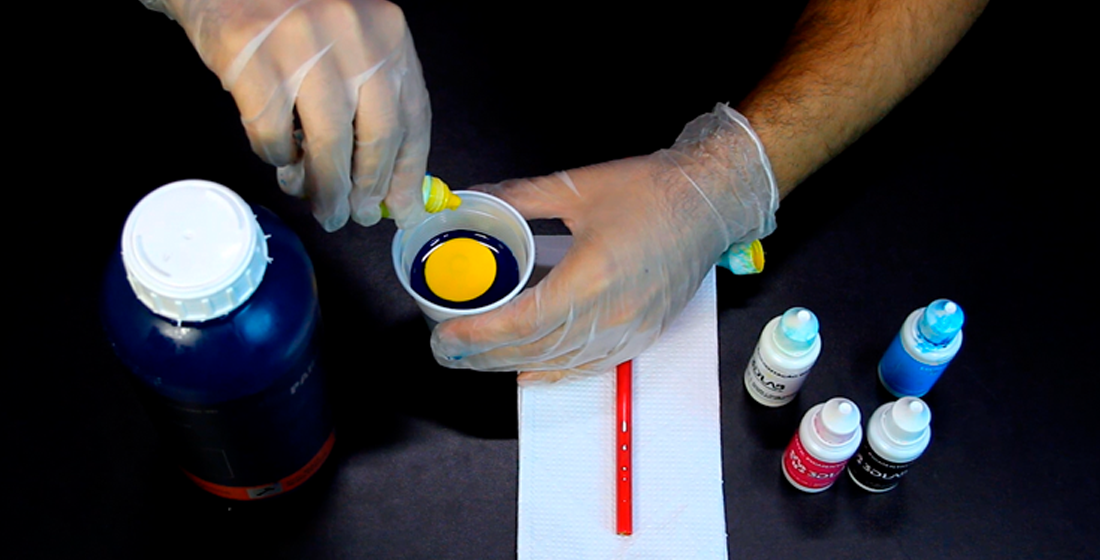 Pigmentar a Resina 3D
