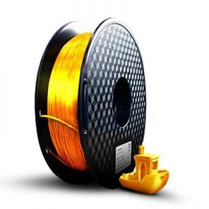 filamento pla ultra silk ouro